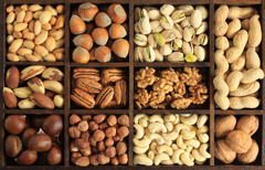 Eating nuts linked to healthier, longer life
